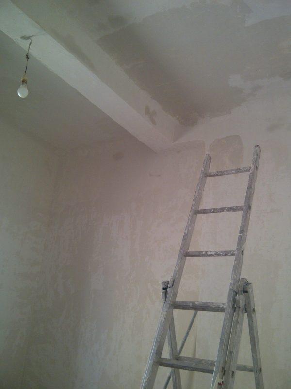 Enduisage des murs
