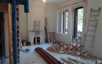Rénovation sous-œuvre maçonnerie