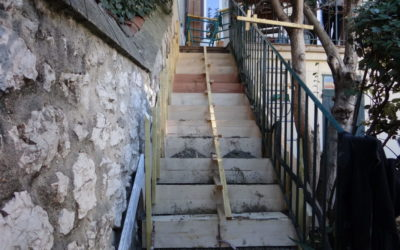 Rénovation ou création d'un escalier extérieur ou intérieur