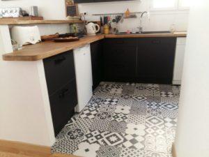 creation d'une cuisine ouverte sur salle a manger