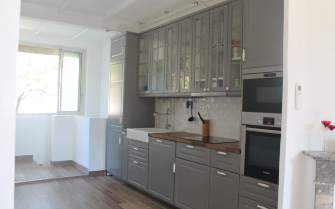 Rénovation complète d'une maison de ville à Marseille 13009
