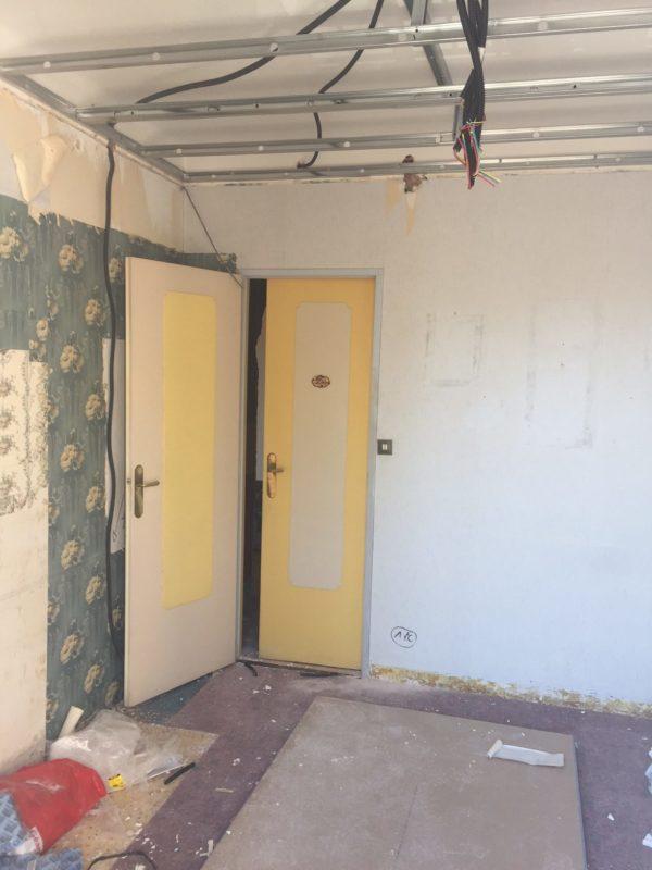 AVANT Chambre à rénover
