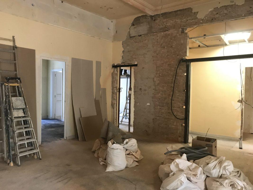 renovation bureaux marseille rue sylvabelle 13006