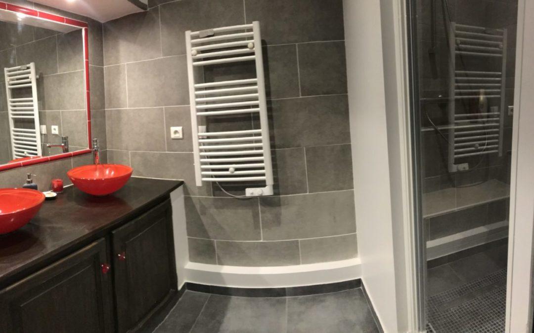 Rénovation d'une salle de douche dans un appartement ancien à Marseille 1er