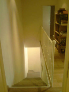 creation d'un escalier interieur