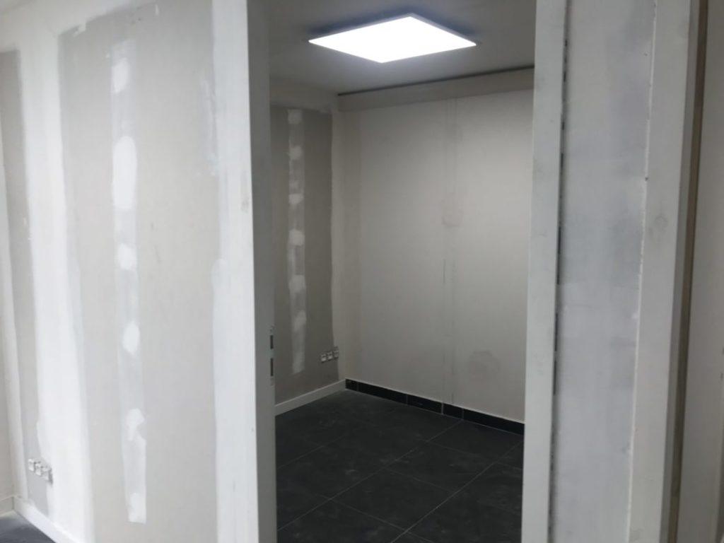 salle de soin dans le cabinet de kinesitherapie de marseille