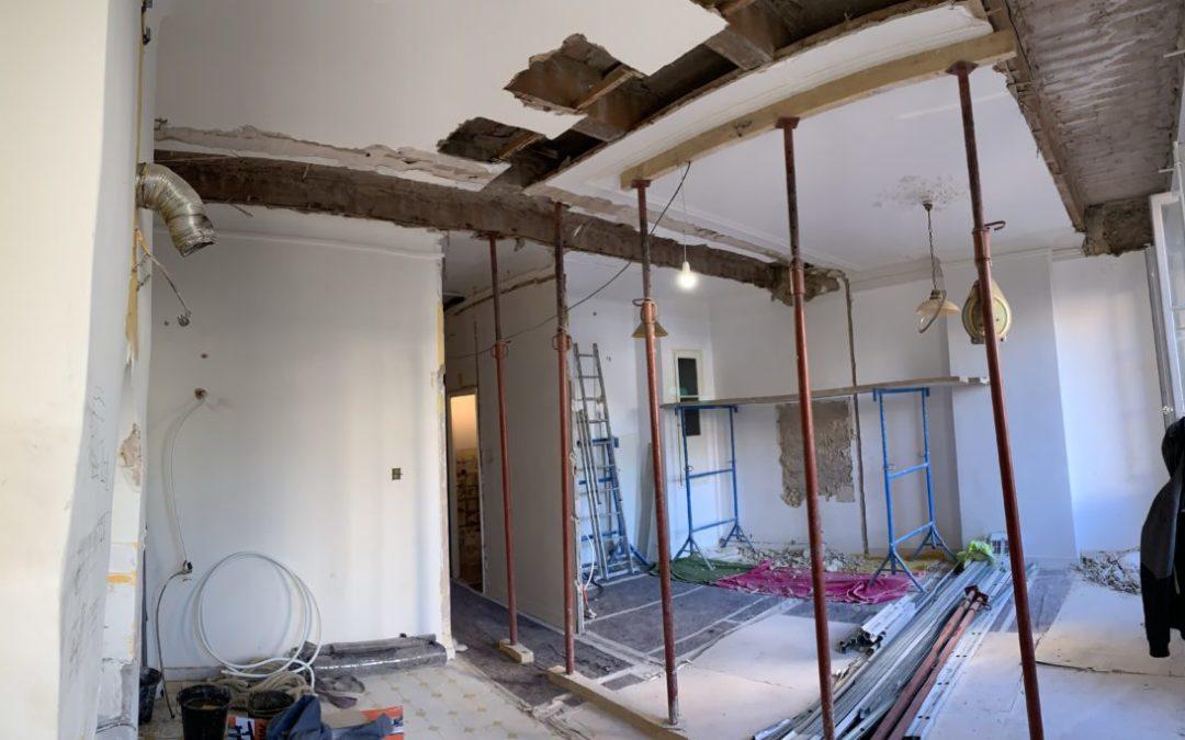 Rénovation appartement rue Espérandieu 13001