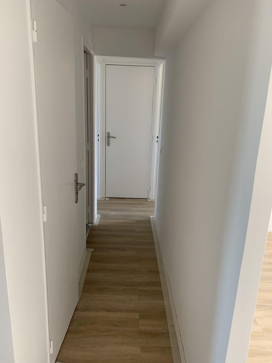 couloir appartement michelet après travaux