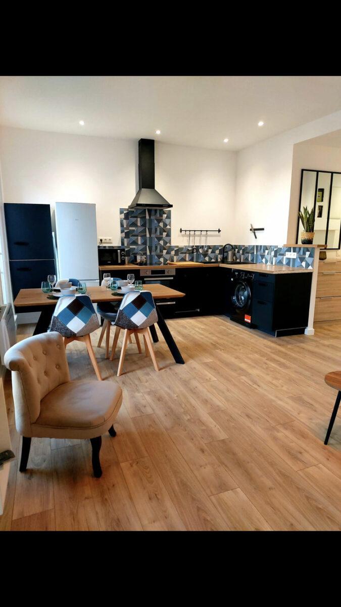 cuisine ouverte renovation appartement 13002 marseille