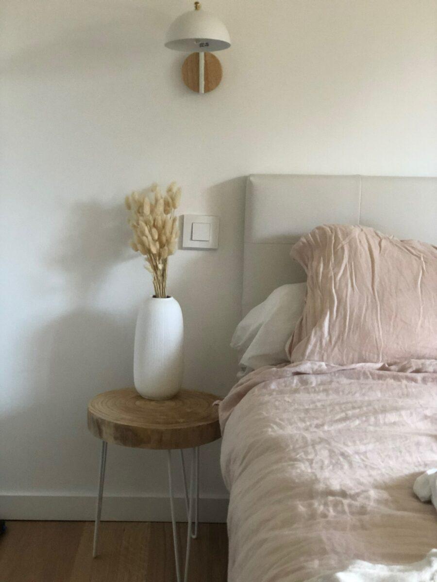 chambre à coucher après rénovation